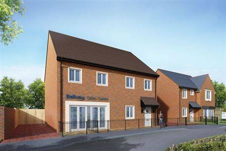 Exterior CGI image Bellway-Hillview_sales_office