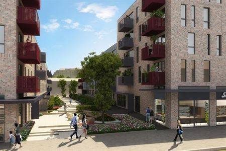 Exterior CGI image Bellway-Stepney_Green_Cam01_highres_Amended-4836