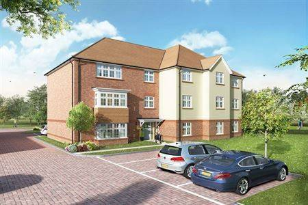 Exterior CGI image Redrow Homes-WentworthPark_Block_B_view_