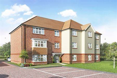 Exterior CGI image Redrow Homes-WentworthPark__Block_B-version_2